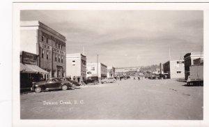 RP : DAWSON CREEK , B.C. , Canada , 1930-40s ; Street at DEW DROP INN
