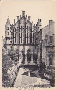 Chevet Du Palais De Justice Et Tour Maubergeon, Poitiers (Vienne), France, 19...
