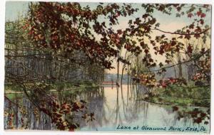 Lake at Glenwood Park Erie PA