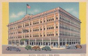 RENO, Nevada, 1930-1940's; Hotel Golden