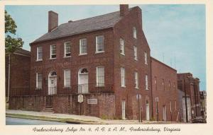George Washington's Mother Lodge, Masonic Temple #4, A.F. & A.M., Fredericksb...