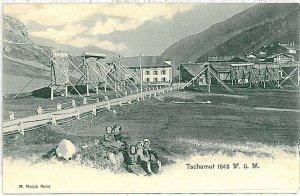 31288 - Ansichtskarten VINTAGE POSTCARD: SWITZERLAND Schweiz Graubünden Tujetsch