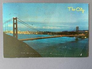 Golden Gate Bridge San Francisco CA Chrome Postcard A1173090701