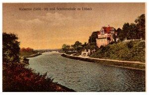Germany  kaisertor und Schifferschule zu Lubeck