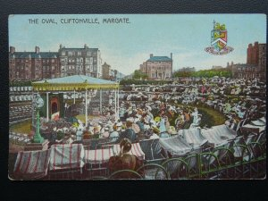 MARGATE Cliftonville The Oval showing Stage entertainment - Old Postcard