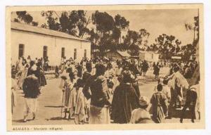 ASMARA, Eritrea, 1910-30s   Mercato indigeno