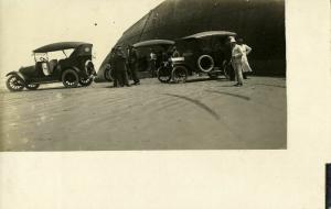 mexico, Three Oldsmobiles, Car (1910s) RPPC Postcard