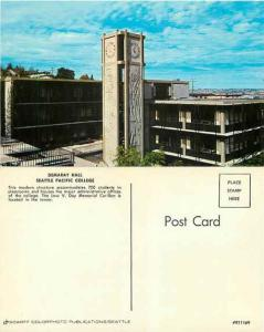 Demaray Hall at Seattle Pacific College, Washington WA, Chrome
