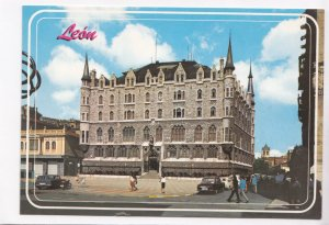 Leon, Plaza de San Marcelo, Spain, unused Postcard