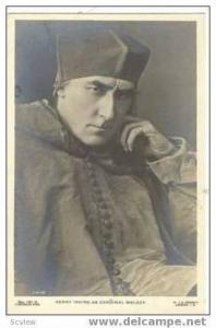 RP Henry Irving as Cardinal Wolsey,00-10s Shakespeare