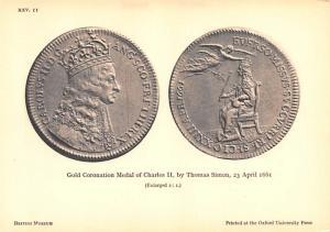 Gold Coronation Medal -