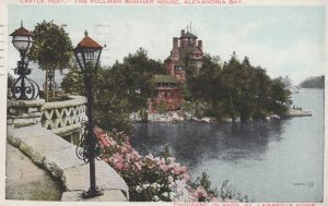 THOUSAND ISLANDS, St. Lawrence River, Ontario, 1933; Castle Rest, The Pullman...