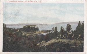 Annapolis Basin & Digby Cut , Nova Scotia , Canada , PU-1913