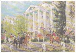 West Virginia White Sulphur Springs Springtime At The Greenbrier
