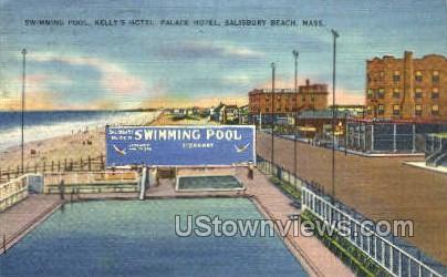 Kelly S Hotel Salisbury Beach Ma 1939