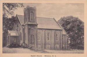North Carolina Hillsboro Baptist Church