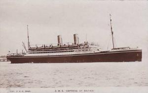 RP; R.M.S. Empress of Britain, Ocean Liner, 10-20s
