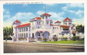 Puerto Rico San Juan Casa de Espana en Puerto Rico