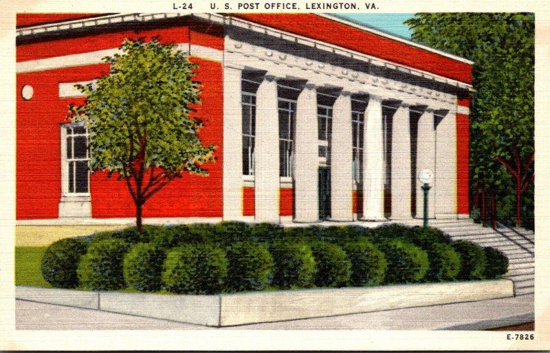 Virginia Lexington Post Office