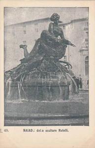 Waterfountain, Naiade Dello Scultore Rutelli, Italy, 1900-1910s