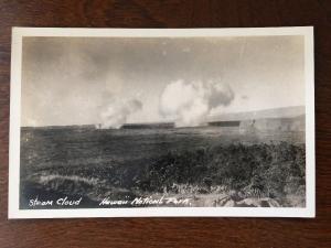 RPPC Steam Cloud, Hawaii National Park, Hilo, Hawaii 1930s C12