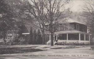 New York Bath Chapel And Priests Home National Military Home Albertype