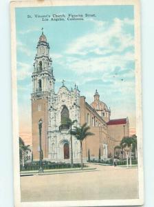 W-Border CHURCH SCENE Los Angeles California CA hs7808