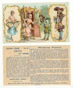 TC  Medival France, Arbuckel Coffee 1893