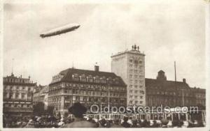 Graf Zeppelin,  Uber Leipzig, Zeppelins Postcard Postcards  Graf Zeppelin,  U...