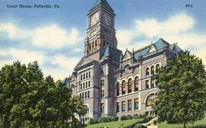 PA - Pottsville. Court House