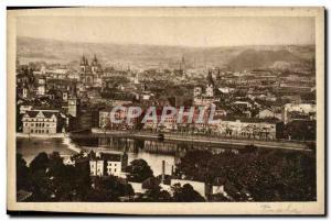 Old Postcard Praha