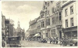 United Kingdom, UK, England, Great Britain East Street Cchichester Cross Cchi...