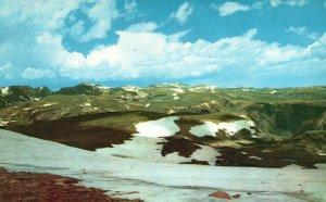 Beartooth Mountains, Montana, MT, 1958 Chrome Vintage Postcard g8481