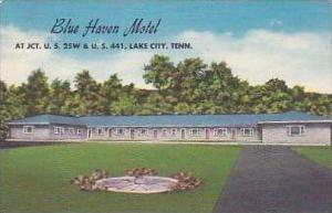 Tennessee Lake City Blue Haven Motel