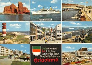 Helgoland multiviews Schiff Ship The Pier Promenade Beach Ligthouse