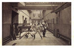 Nostalgia Postcard Exeter Hall Gymnasium c1900 London Reproduction Card NS45