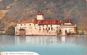 Chateau de Chillon Vu du Lac Switzerland Unused