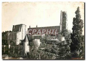 Modern Postcard Albi La Cathedrale Ste Cecile and the Berbie Palace