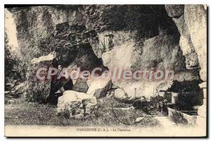 Old Postcard Ganagobie B A La Fontaine
