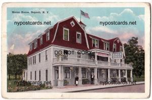 Moran House, Deposit NY