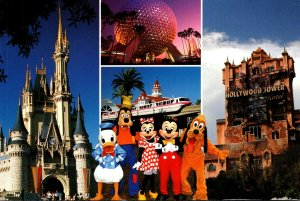 Florida Walt Disney World Mickey and Friends Welcome To Our World 1999