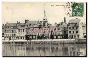 Old Postcard Honfleur