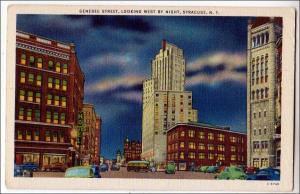 Genesee St, Syracuse NY