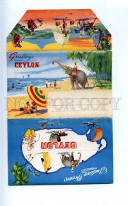 164017 Greetings from CEYLON Negombo Sigiriya SET of 9 cards