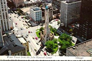 Illinois Chicago Water Tower From John Hancock Center 1972