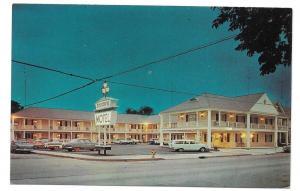 Colonial Motel Gettysburg PA US Route 15 Vintage Postcard