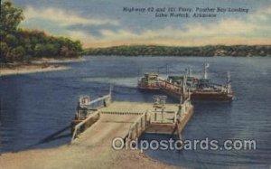Lake Norfork, Arkansas, USA Ferry, Ship Unused light corner wear close to gra...