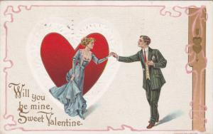 Will you be mine, Sweet Vaentine, Red Heart, Couple, PU-1912