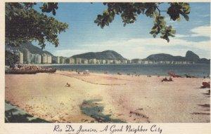 Rio de Janeiro , Brazil , 30-40s ; A good Neighbor City