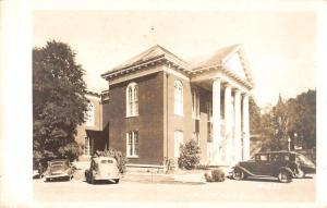 Mt Sterling Illinois Court House Exterior Real Photo Antique Postcard K29185